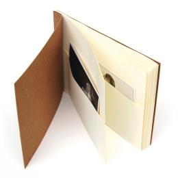Pocket-Album TRAVELER light brown