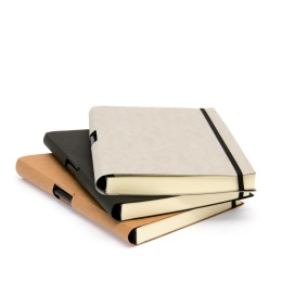 Notebook TUTOR light grey | A 5, 144 sheets blank
