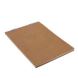 Sketch Pad CLIPPER light brown | A4, 50 sheet blank, 120 g