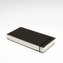 Sketchbook INSPIRATION elastic black | 21 x 10,5 cm, 96 sheet blank 120 g