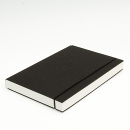 Sketchbook INSPIRATION elastic black | A 5, 96 sheet blank 160 g
