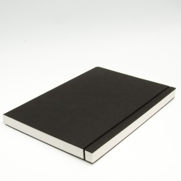 Sketchbook INSPIRATION elastic black | A 4, 96 sheet blank 160 g
