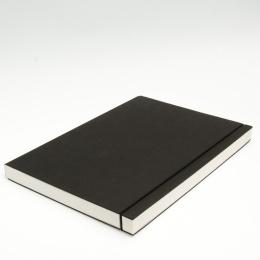 Skizzenbuch INSPIRATION Gummi schwarz | DIN A 4, 96 Blatt blanko 120 g