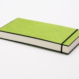 Sketchbook INSPIRATION COLOUR green | 21 x 10,5 cm, 96 sheet blank 120 g