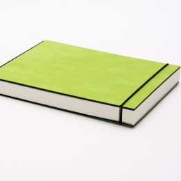 Sketchbook INSPIRATION COLOUR green | 21 x 21 cm, 96 sheet blank 120 g