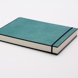 Sketchbook INSPIRATION COLOUR turquoise | 21 x 21 cm, 96 sheet blank 120 g