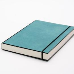 Skizzenbuch INSPIRATION COLOUR türkis | DIN A5, 96 Blatt blanko 160 g