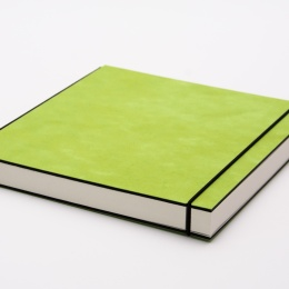 Sketchbook INSPIRATION COLOUR green | A5, landscape, 96 sheet blank 120 g