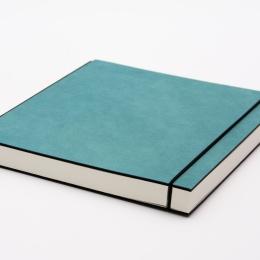 Sketchbook INSPIRATION COLOUR turquoise | A5, landscape, 96 sheet blank 120 g