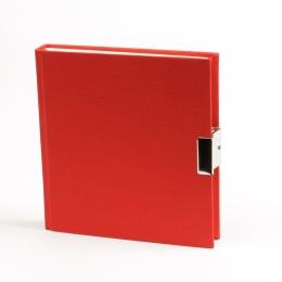 Journal LINEN red
