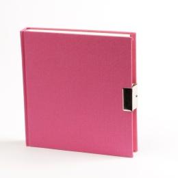 Journal LINEN pink