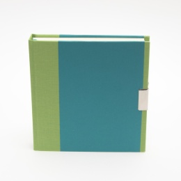 Journal TRUE COLOURS green/turquois