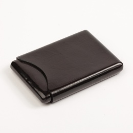 Business Card Case  dark brown